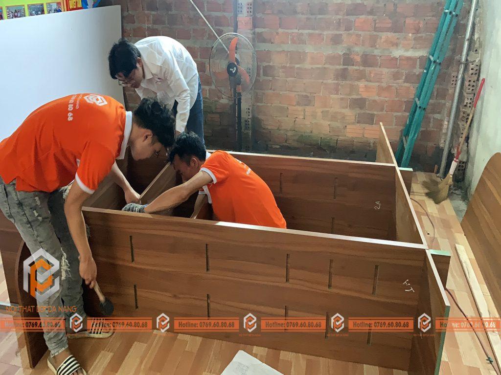 nhận gia công gỗ nội thất giá rẻ