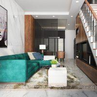 thiết kế nội thất nhà phố tại Cẩm Lệ, Đà Nẵng