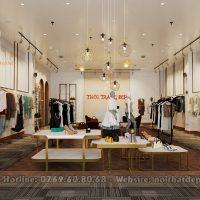 thiết kế nội thất showroom thời trang nữ tại Thanh Khê, Đà Nẵng